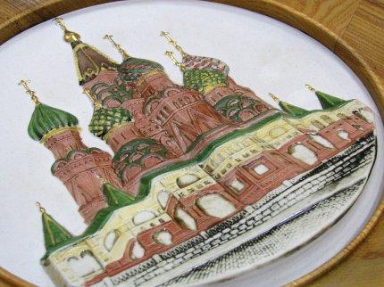 Панно Собор Василия Блаженного