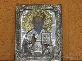 Икона «Николай Чудотворец» (вешний)