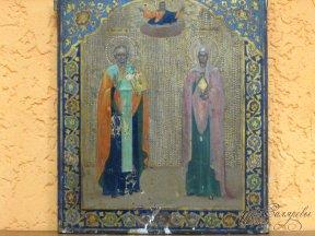 Икона «Николай Чудотворец и Мария Магдалина»