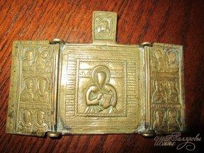 Складень св. Антипий с избранными святыми