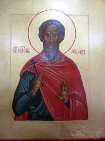 Икона «Св. мученик Леонид»