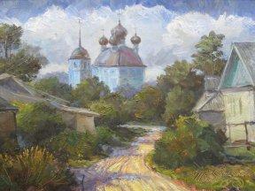 Церковь в селе Крывотынь