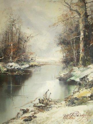 Пейзаж зимний
