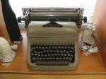 Пишущая машинка «Optima»