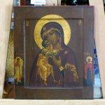 Икона «Божья Матерь Феодоровская»