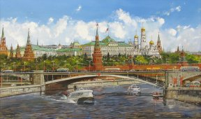 Москва. СССР. Кремль