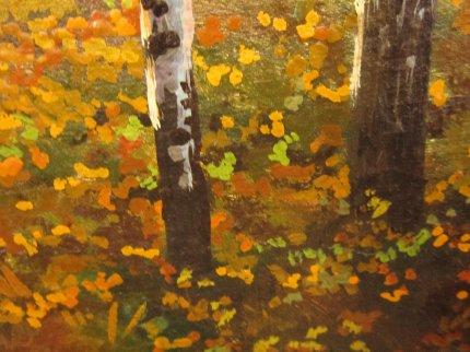 Осень в березовой роще