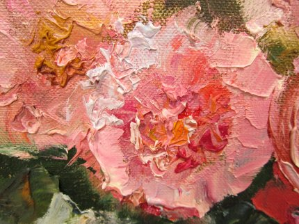 Розы из полисадника