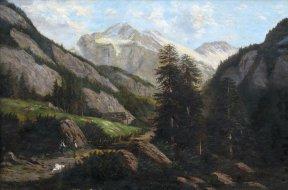 Австрийские горы