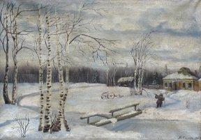 Березы в снегу