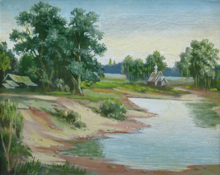 Полдень на реке