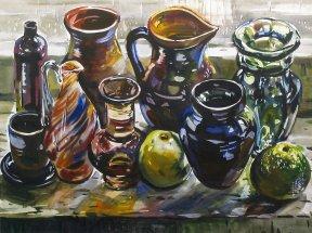 Натюрморт с вазами
