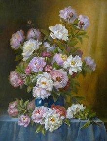 Пионы. Многоцветие