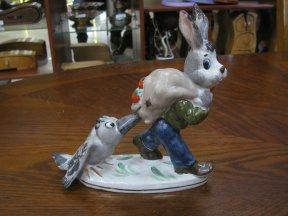 Заяц с вороной