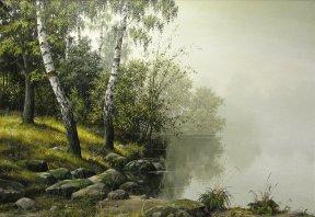 Березки над озером